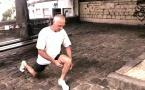 Entrainement à l'auto-défense : Travail des jambes par Jean-Noël Naturel