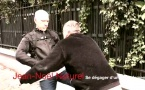Défense et formation : Se dégager d'un étranglement en gardant ses distances, frapper les mains et riposter aux génitales, à la gorge et à la clavicule (Version 2) par Jean-Noël Naturel